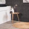Afbeelding van Tafel Goud - Lelie Blad- 40x40x38cm