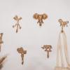 Bild von Wandhaken Giraffe-Gold-Aluminium- 7x17x3