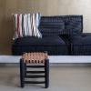 Bild von Lounge Matratze Marokko Jeans Blue 120x80x15