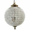 Afbeelding van Kristallen Lamp, Glazen Kralen, Groot