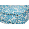 Afbeelding van Lounge Matras Marokko Wit,Blauw 120x30x15