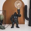 Afbeelding van Staande Gorilla Lamp-20x35x18 cm-Goud-Housevitamin