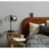 Afbeelding van Ierse tafellamp grijs metallic