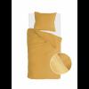 Afbeelding van Dekbedovertrek Soft Structure Okergeel - 155x220 cm