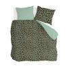 Bild von Dekbedovertrek Lazy Leopard Groen - 200x220 cm