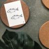 Afbeelding van Kaart Vissen-A6