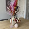 Afbeelding van Kleine Vaas met Droogbloemen