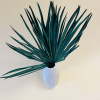 Bild von Palmblatt Dark Green - 2 Stück
