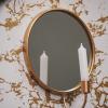 Bild von Kerzenhalter mit spiegelrundem Gold
