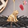Afbeelding van Leeuw Kaartenhouder-4x12x6 cm-Goud