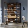 Bild von Viva Schrank mit Glastüren + Schubladen schwarz