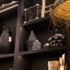 Bild von Berber-Korb schwarz und weiß schwarz, weiß s