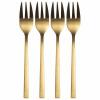 Afbeelding van Taartvorkjes goud - set 4 stuks