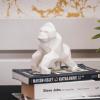 Afbeelding van Gorilla Beeld - Wit