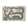Bild von Dennis tapijt grijs katoen