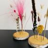 Afbeelding van WOODEN FLOWERS YELLOW