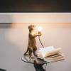 Bild von Stick Tail Lampengold - 15x10x38 cm