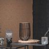 Bild von Windlight - Schwarz / Gold - 15x15x25cm