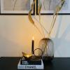 Afbeelding van Waxinelichthouder - Zwart