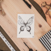 Afbeelding van Ansichtkaart Vlinder-A6