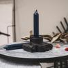 Bild von Abendessen Kerzen 6 Stück - dunkelblau