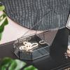 Bild von Aufbewahrungsbox schwarz - 16x15x6cm