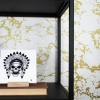 Afbeelding van Keramische Tegel Indiaan Skull-15x15cm