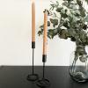 Bild von Kerzenständer Schwarz - 27cm