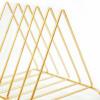 Bild von Organizer-Metallbuchstaben Gold-housevitamin