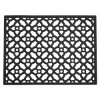Afbeelding van CETUS mat zwart rubber