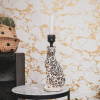Bild von Leopard-Kerzenständer-10x25x9 cm