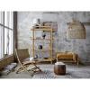 Afbeelding van Skye Bookcase Nature Oak Fineer