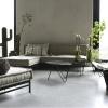 Afbeelding van Lounge Matras Marokko Licht Grijs 80x30x15