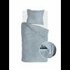 Bild von Dekbedovertrek Vintage Flannel Jeans Blauw - 135x200 cm