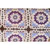 Afbeelding van Lounge Matras Marokko Paars,Bruin 120x80x15