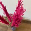Bild von Pampasgras Getrocknete Fel Rose - 4 Stück 100cm