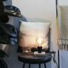 Bild von Hölzerne Vintage-Lampe 13x13x22cm