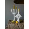 Bild von Modernes Kerzenständer Tame Groute weißes Gesetz