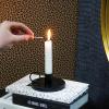 Bild von Kerzenständergold - 10x10x4cm