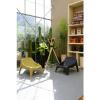 Afbeelding van Tuinstoel Polyester Oker-Geel