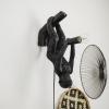 Afbeelding van Hangende Apenlamp-23x36x11 cm-Zwart
