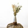 Bild von Keramik Vase -Weiß Kupfer