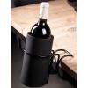 Afbeelding van Wijnkoeler tafelklem zwart