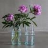 Afbeelding van Vaas Cylinder Glas Transparant S