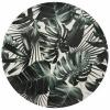 Bild von Bodenschild Ø33cm Palmblätter