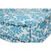 Afbeelding van Lounge Matras Marokko Wit,Blauw 120x80x15