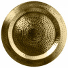 Bild von Deko-Plateau Ø38x2cm Gold