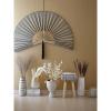 Bild von Berican Deco vaas wit terracotta