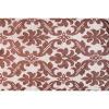 Bild von Lounge Matratze Marokko braun, weiß 80x80x15 cm