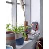 Bild von Noak Deco bloempot blauwe terracotta